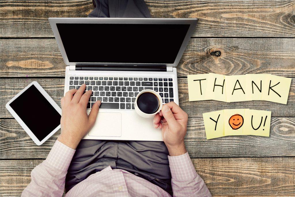 Thank You Gratitude Smiley Face Admiration Thankyou Note Pad Single Word