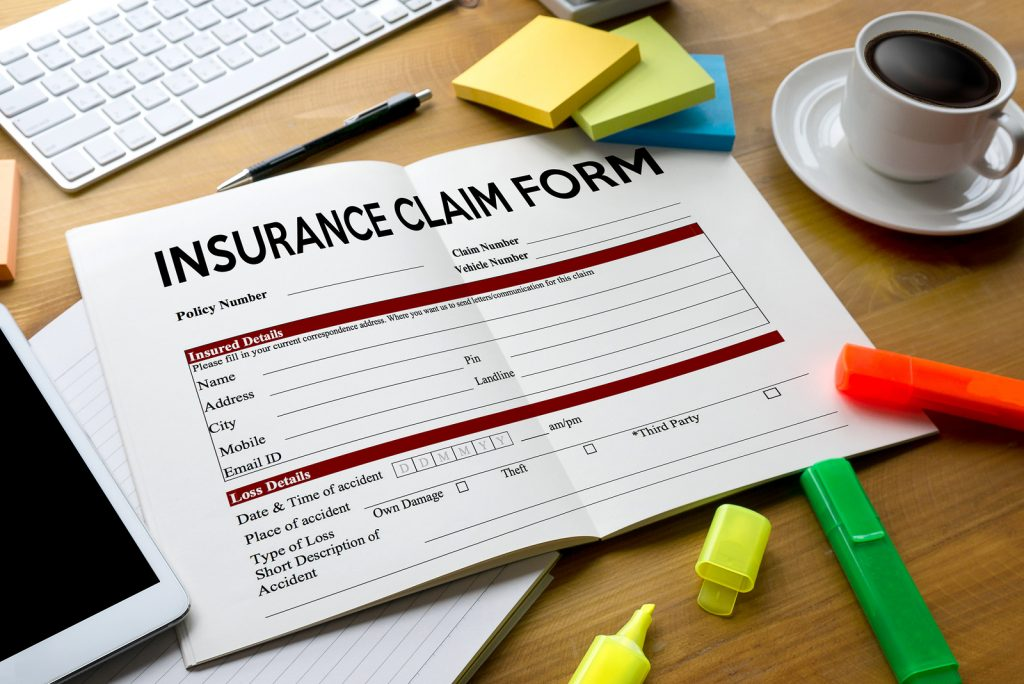 Claims Health Insurance Form , Claims Document Of The Customer